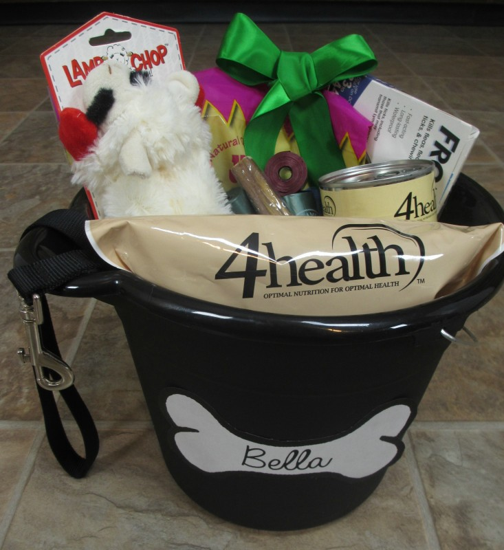 DIY gift basket for your dog