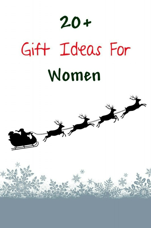 Gift guide for women - gift ideas for women for christmas or their birthday. Includes gifts for people who have everything, gifts under $20 and more!