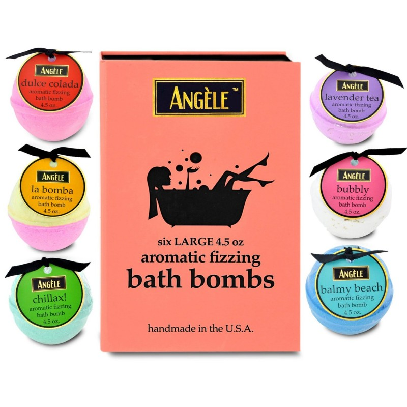 angele bath bomb