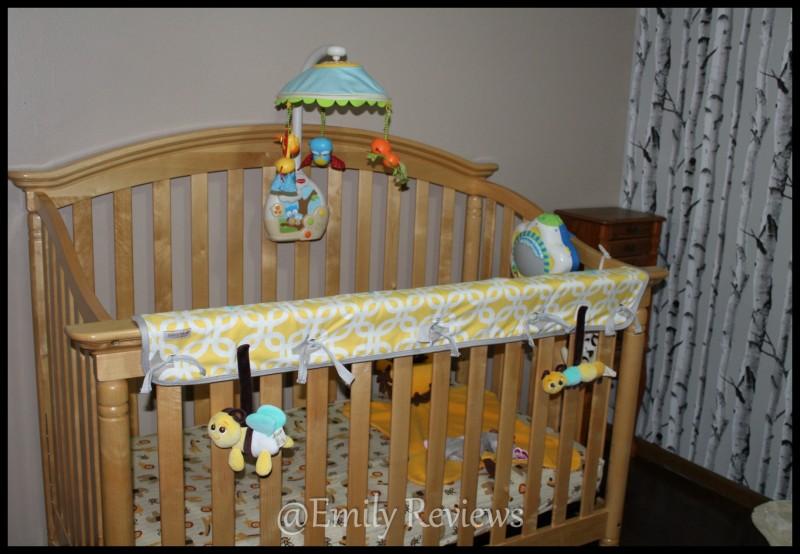 Babee Talk ~ Eco-Teether Crib Rail Cover & Toys