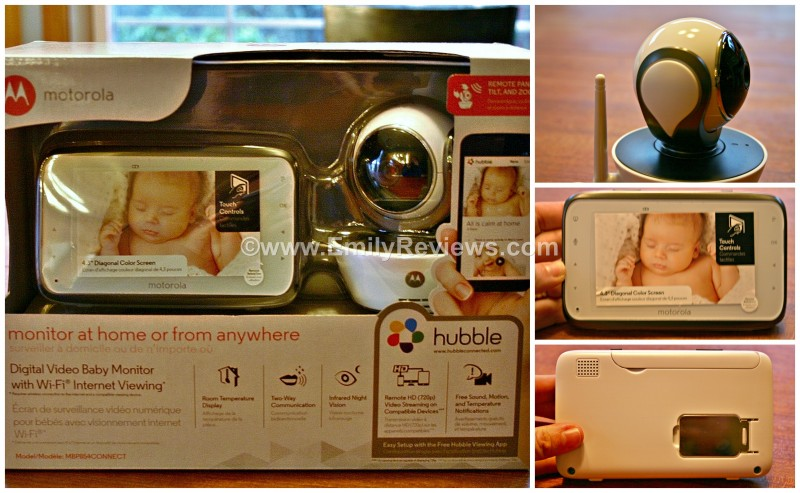 welcome baby with a motorola mbp854connect digital video baby monitor review emily reviews. Black Bedroom Furniture Sets. Home Design Ideas