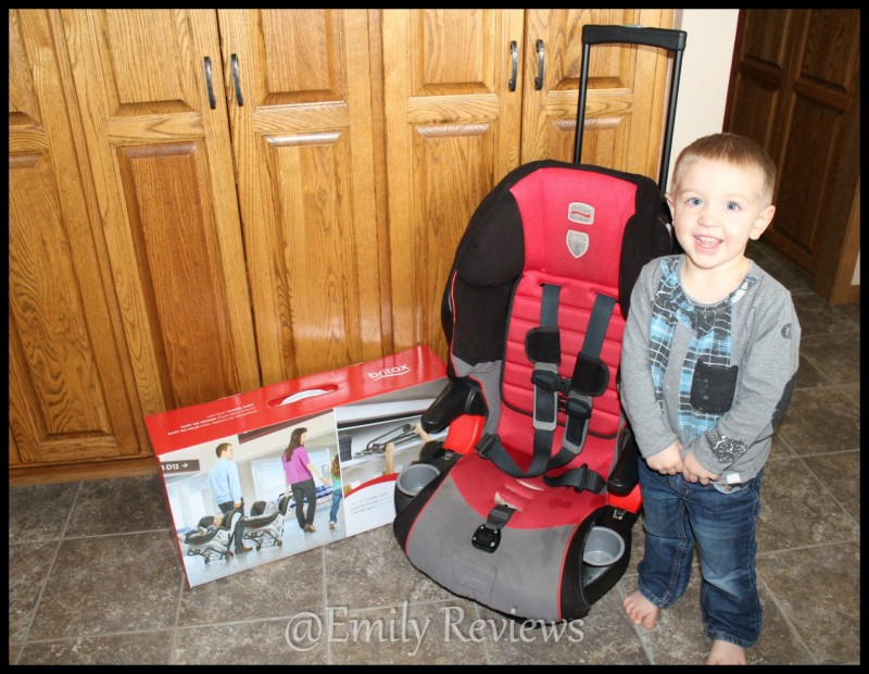 Britax Car Seat Travel Cart Spring Vacation Here We Come Emily