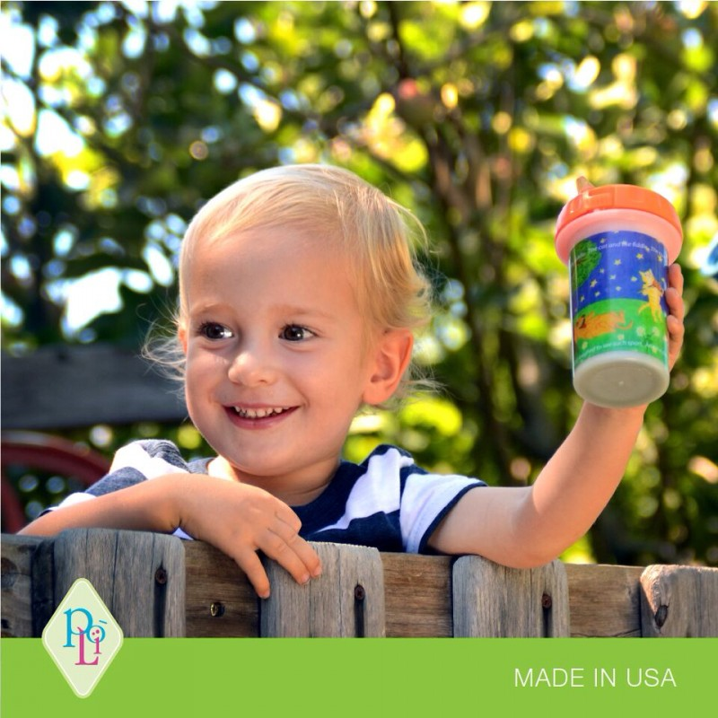 Poli Sippy Cup! Poli is easy-to-clean, totally safe and the designs are totally adorable.