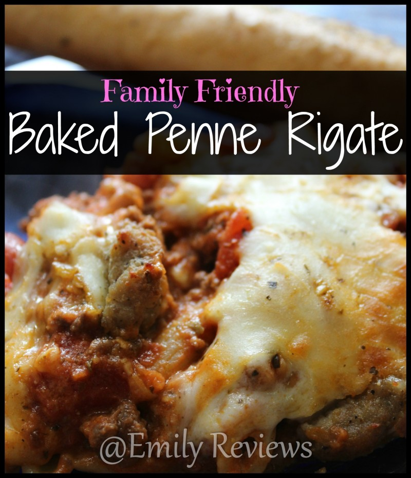 Family Friendly Baked Penne Recipe~ Simple & Feeds a crowd! Great potluck dish. Very delicous and definitely a crows pleaser. Simple to make.