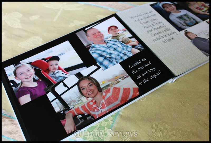 cvs photo gifts our 2016 family vacation hardcover photo album