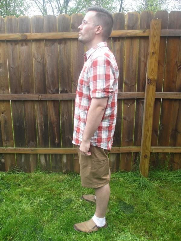 Wrangler advanced comfort flat front cargo shorts