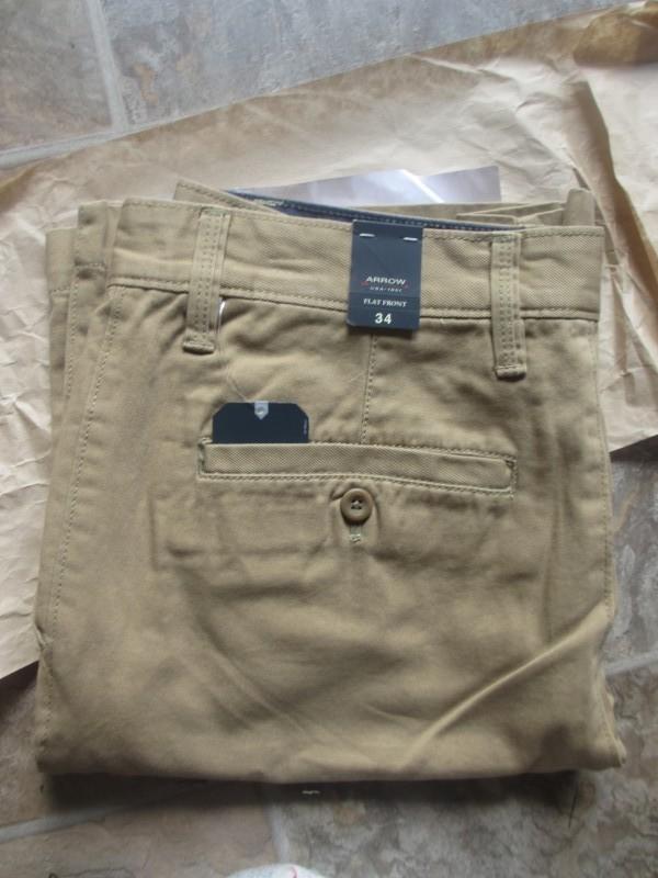arrow flat front shorts threadlab