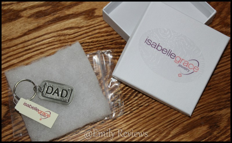 Isabelle Grace Jewelry Dad Keychains ~ Perfect gift idea for dads on Father's Day