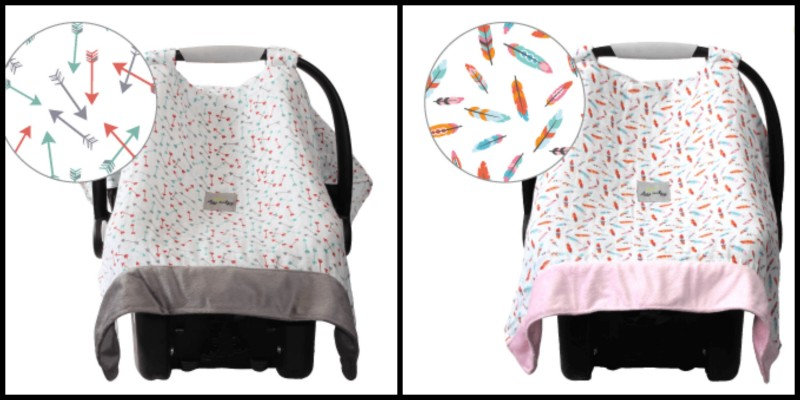Itzy Ritzy Launches Exclusive Prints At Babies R Us For Their Muslin Car Seat