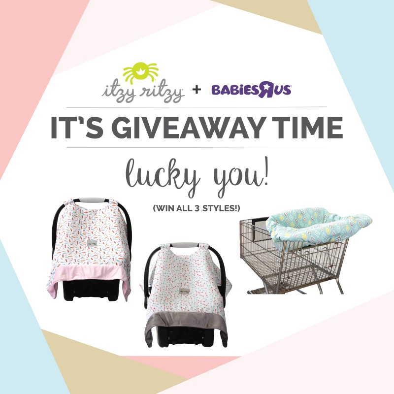 Itzy Ritzy Launches Exclusive Car Seat Canopy Amp High Chair