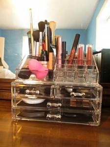 oakleaf makeup organizer