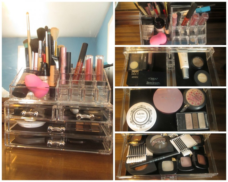 oak leaf llc makeup organizer