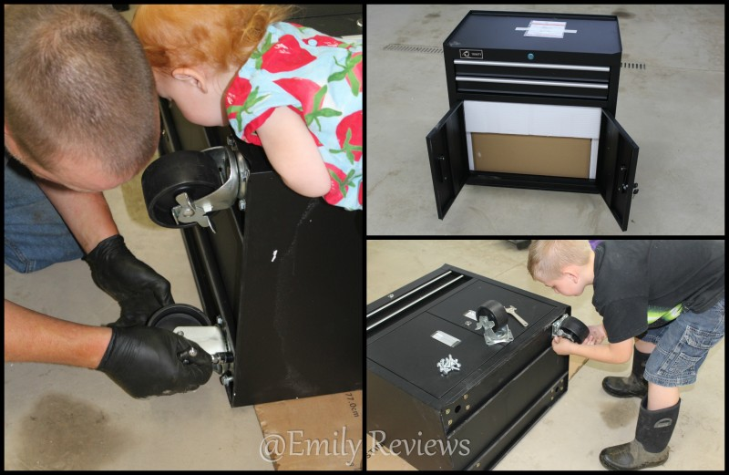 """Trinityii, Trinity 26"""" Nesting Tool Chest ~ Great gift idea for Dads"""
