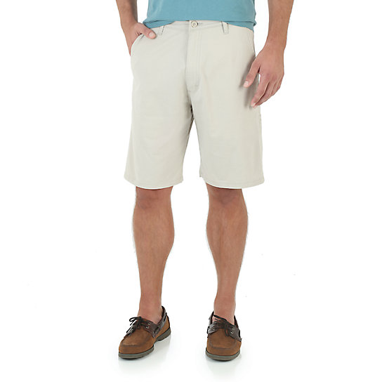 Wrangler advanced comfort flat front cargo shorts
