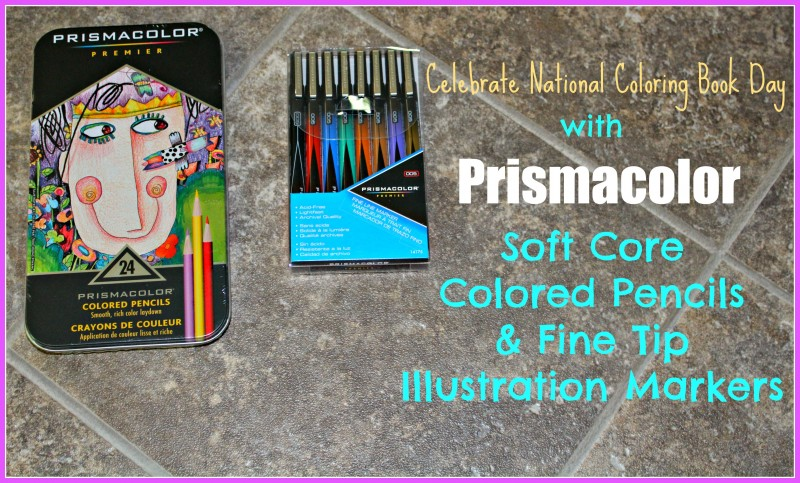 Celebrate National Coloring Book Day With Prismacolor On August 2nd