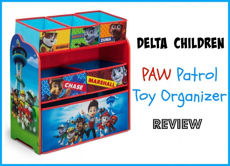 Delta Children PAW Patrol Multi Bin Toy Organizer