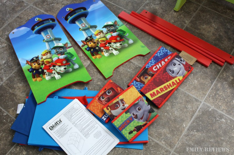 Paw Patrol Kids Toy Organizer Bin Children S Storage Box: Delta Children PAW Patrol Multi-Bin Toy Organizer {Review