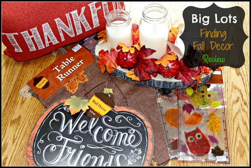 Lots Finding Fall Decor For My Home Review