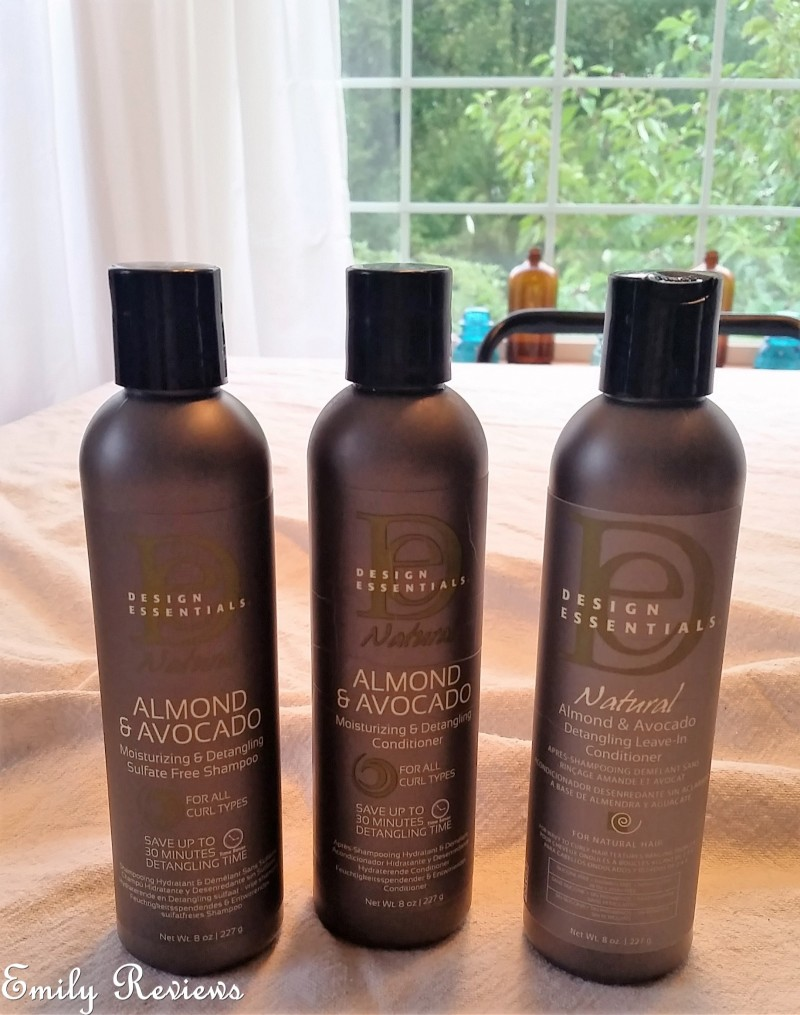Natural Almond & Avocado Moisturizing & Detangling Collection