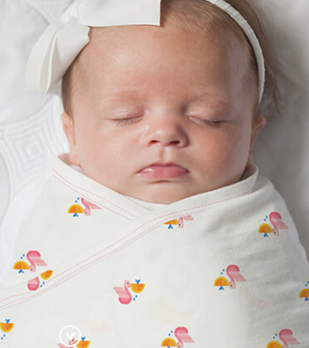 Nested Bean Zen Swaddle ~ Safe Sleeping Tips For National SIDS Awareness Month