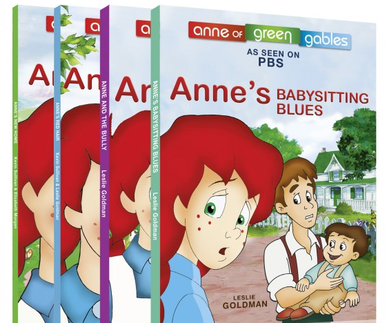 Anne: The Animated Series - Book Set from Sullivan Entertainment