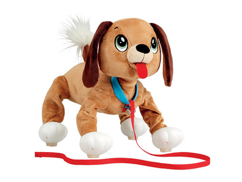 Peppy Pups – your new puppy pal! Peppy Pups walks & runs just like a real dog! Kid powered, real bouncy walking action all day long!