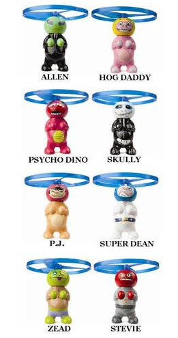 Hog Wild Toys Air Heads Flying Copters