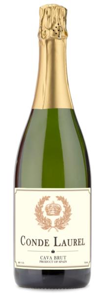 Personal Wine ~ Conde Laurel Cava Brut NV Personalized Cava Sparkling Wine