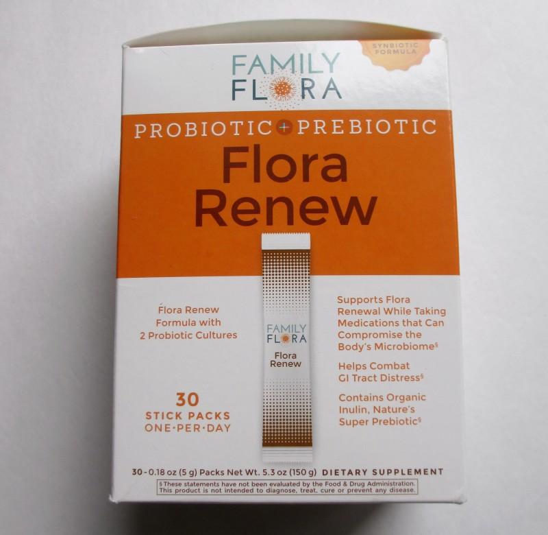 family flora prebiotic probiotic