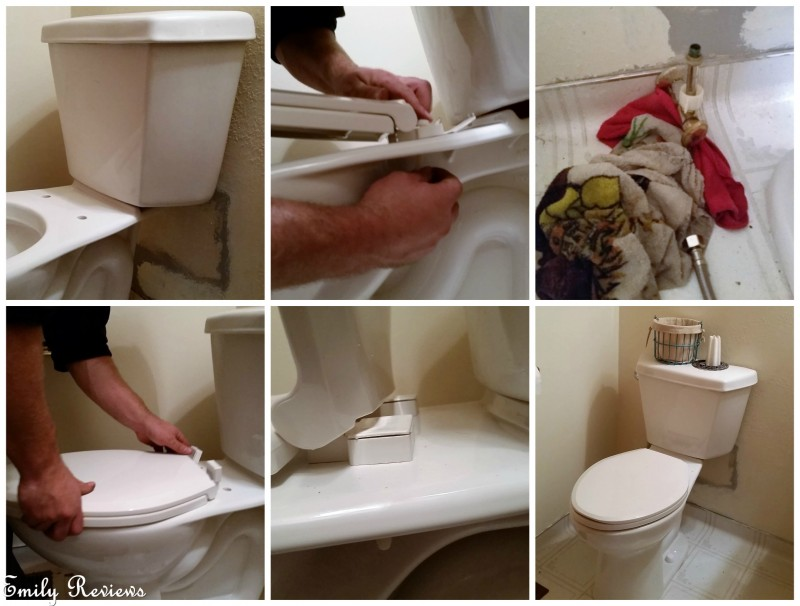 mansfield plumbing denali toilet install