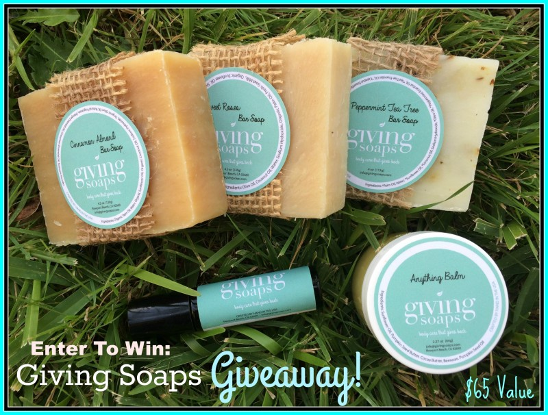 Giving Soaps ~ Perfect Gift Idea For Family, Friends, Co-Workers, Teachers, & More + Giveaway (US) 11/27