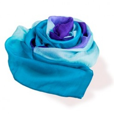 handcrafted silk scarf ~ World Vision Gift Catalog : Give the gift of love, help, and life.
