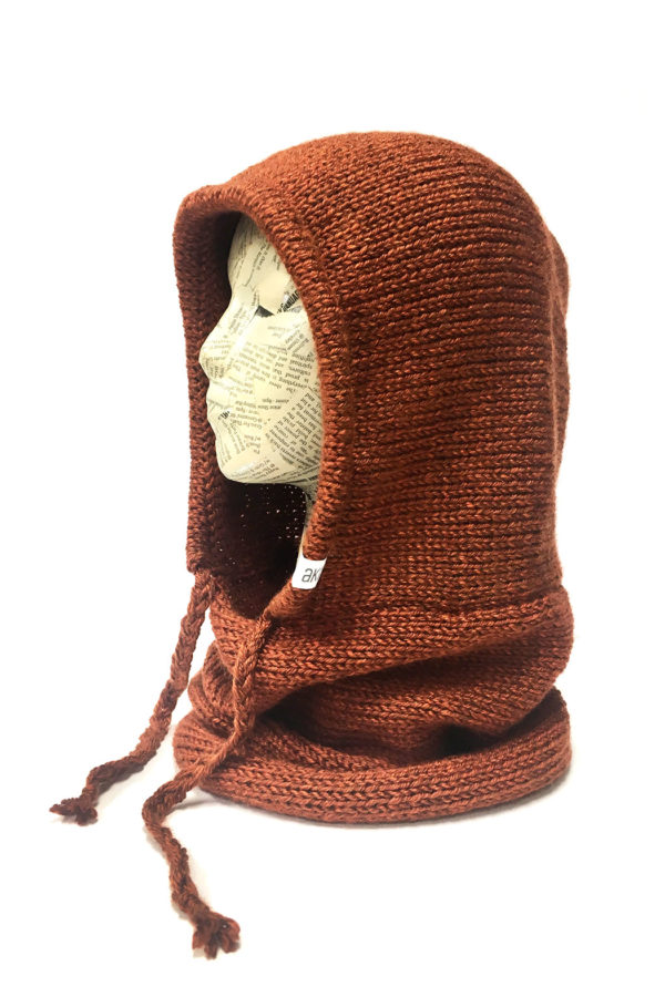 Akinz Verse Hooded Cowl (Hand made neck warmer with hood