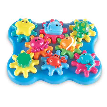 Learning Resources Ocean Wonders Build & Spin ~ Great gift idea for infants and toddlers