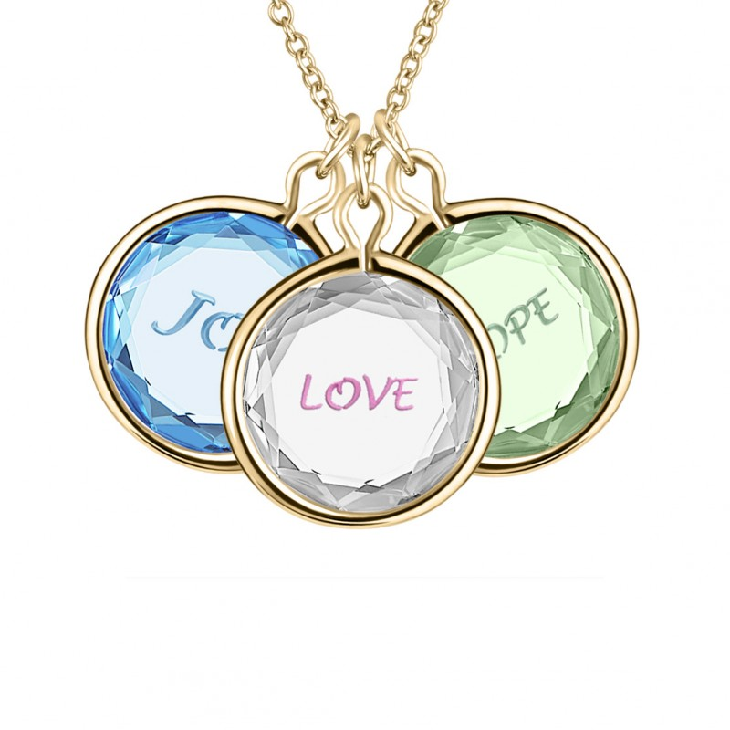 Love Pendants 3-sentiments