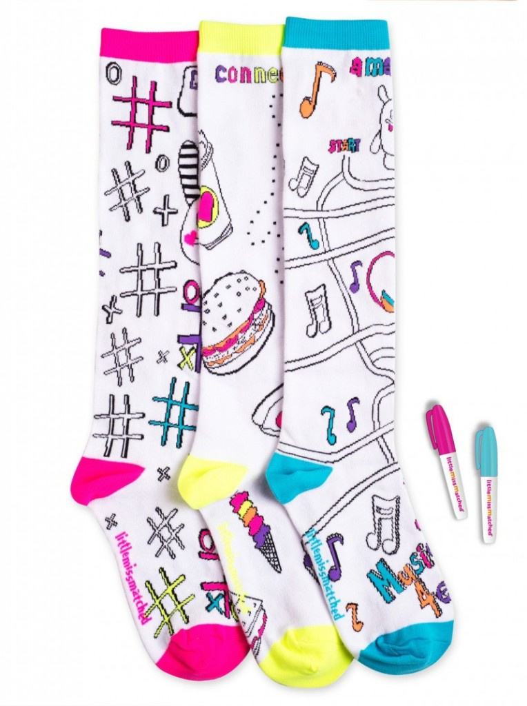 LittleMissMatched Colorize Socks