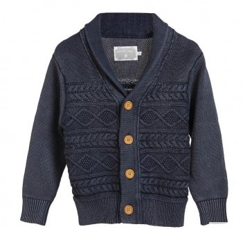 Rockin' Baby ~ Clothes For Christmas & Giving Back {Holiday Gift Guide Idea!} ~Oscar Cable Cardigan