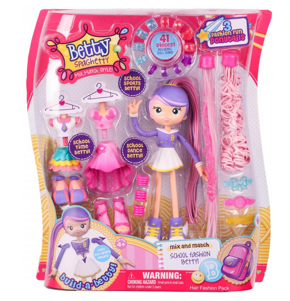 Betty Spaghetti Toys : Moose toys betty spaghetty is perfect for christmas