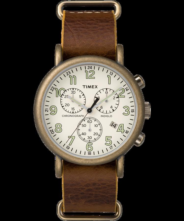 Timex weekender-chrono-oversized