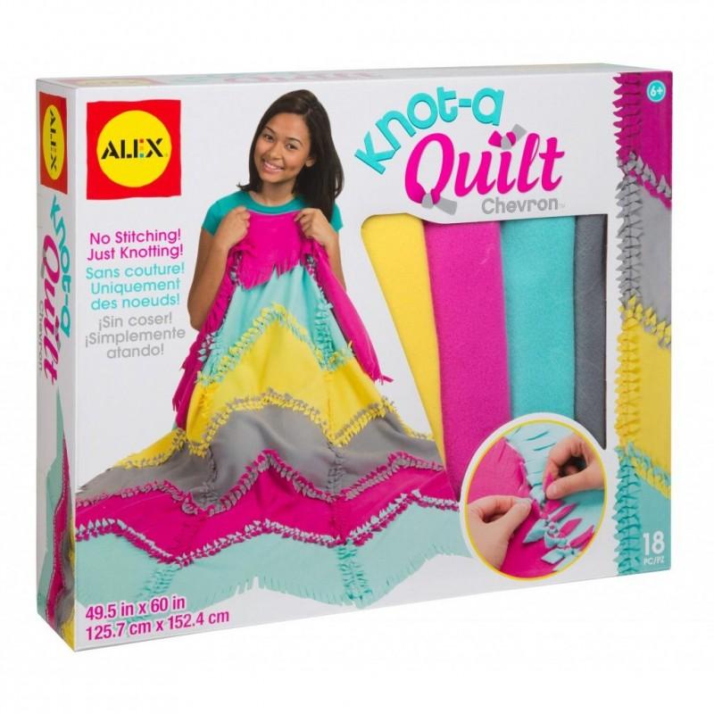 Alex knot a quilt chevron