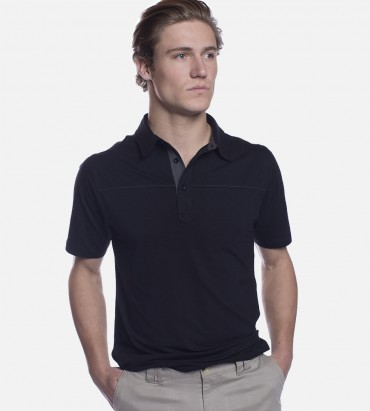Cariloha men's bamboo polo