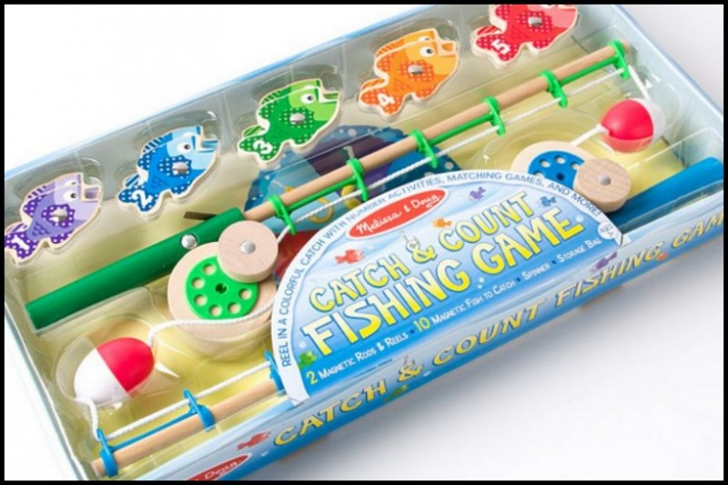 Melissa & Doug Catch & Count Fishing Rod PAPYRUS ~ Greeting Cards, Stationery, Gifts & More! ~