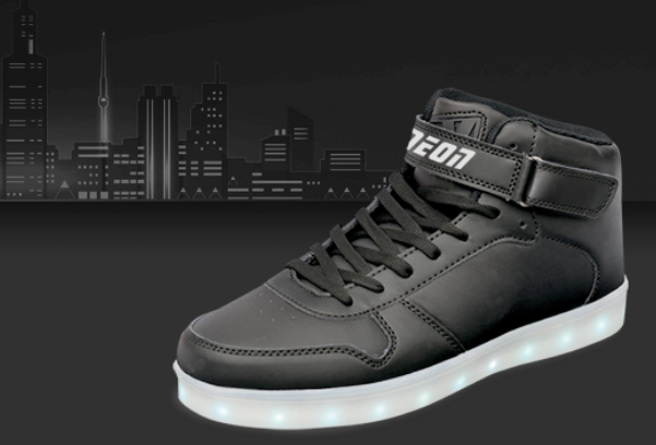 fb622ac7 Neon Kyx Low Top LED Sneakers {Holiday Gift Idea} | Emily Reviews