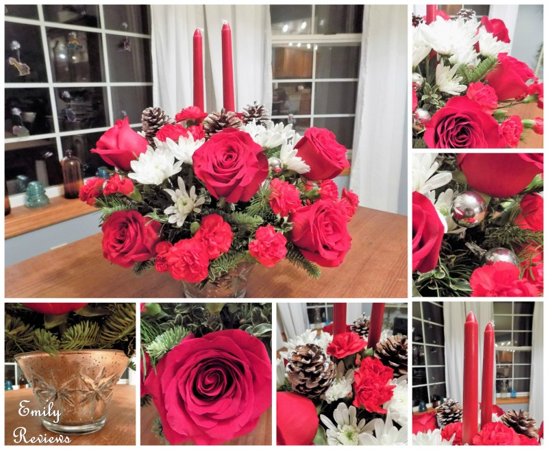 Teleflora s sparkling star centerpiece review giveaway