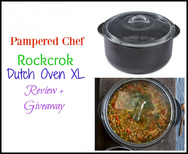 pampered-chef-giveaway ~ Pampered Chef ~ Rockcrok Dutch Oven XL + Taco Soup Recipe + Giveaway
