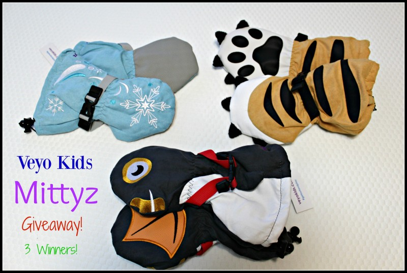 Mittyz Winter Gloves From Veyo Kids