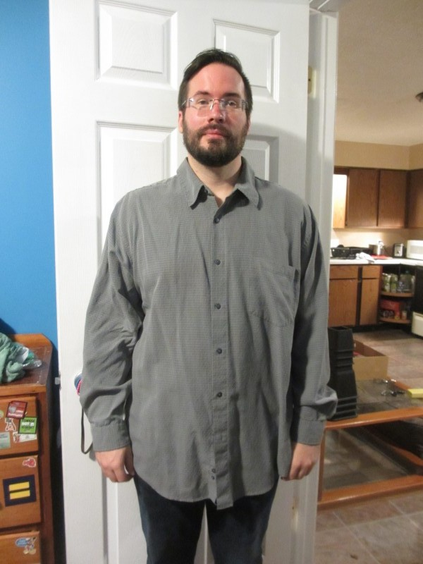 Ryan shirt weight loss