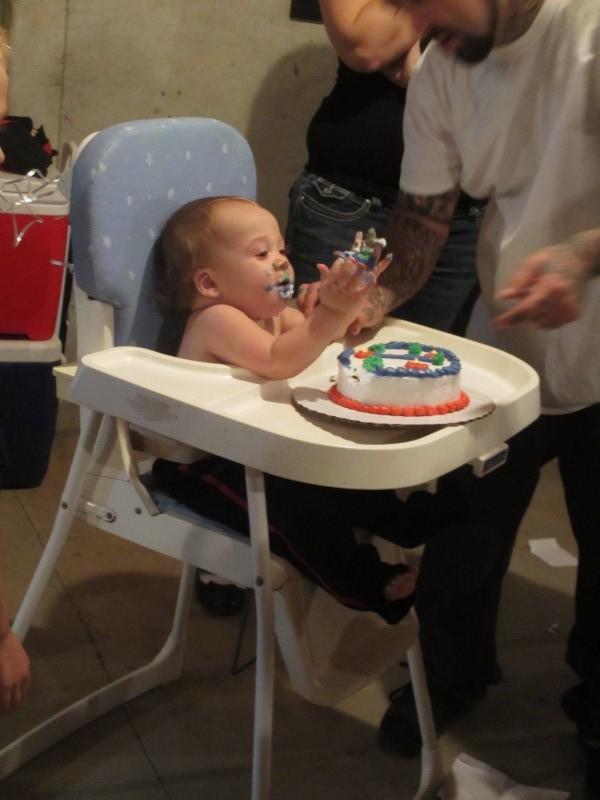 Royce 1st birthday