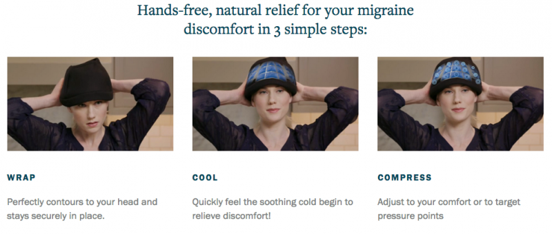 The Daily Migraine ~ Natural Relief With The Migraine Hat