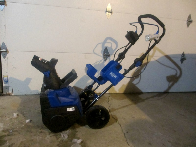 Snow joe electric snow blower review